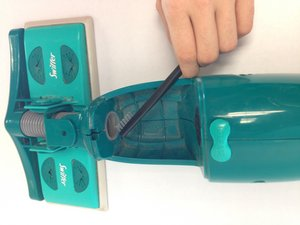 How to clear a Swiffer SweeperVac Clogged Hose