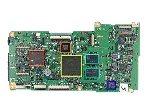 Image 1/2: Toshiba  80 MHz [http://www.semicon.toshiba.co.jp/eng/product_detail/micro/tx19/1261728_13777.html|TMP19A44F10XBG] low-power microcontroller