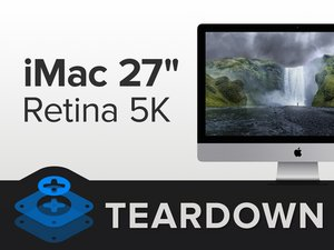 "iMac Intel 27"" Retina 5K Display Teardown"