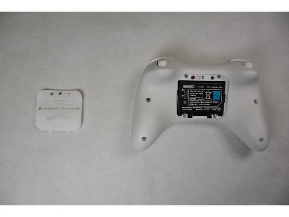 Nintendo Wii U Pro Controller Battery Replacement