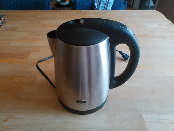 This is an Oster Digital Electric Kettle
