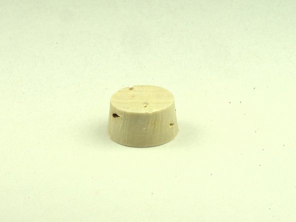 Obtain a replacement water key cork.