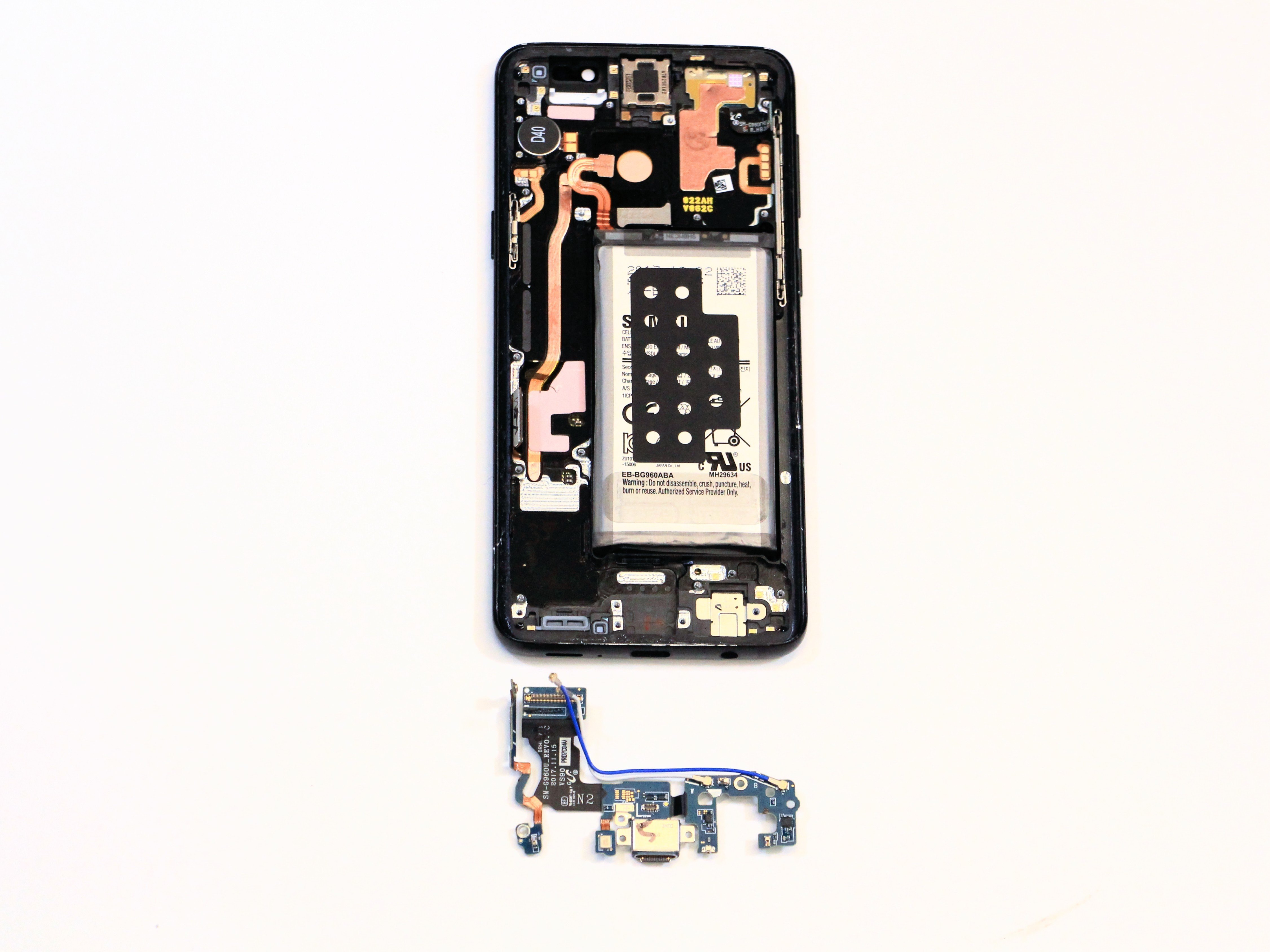 Samsung Galaxy S9 Charging Port Replacement - iFixit Repair