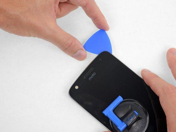 جدا کردن گوشه راست و بالای گوشی