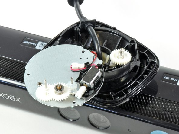 The Kinect's motor and gears don't appear too robust.