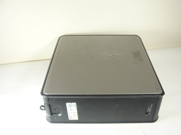 Dell Optiplex 745 Small Form Factor Opening the Case