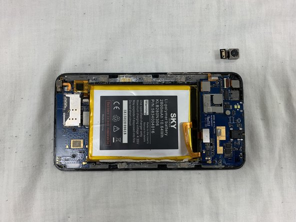 Sky 6.0Q Rear Camera Replacement