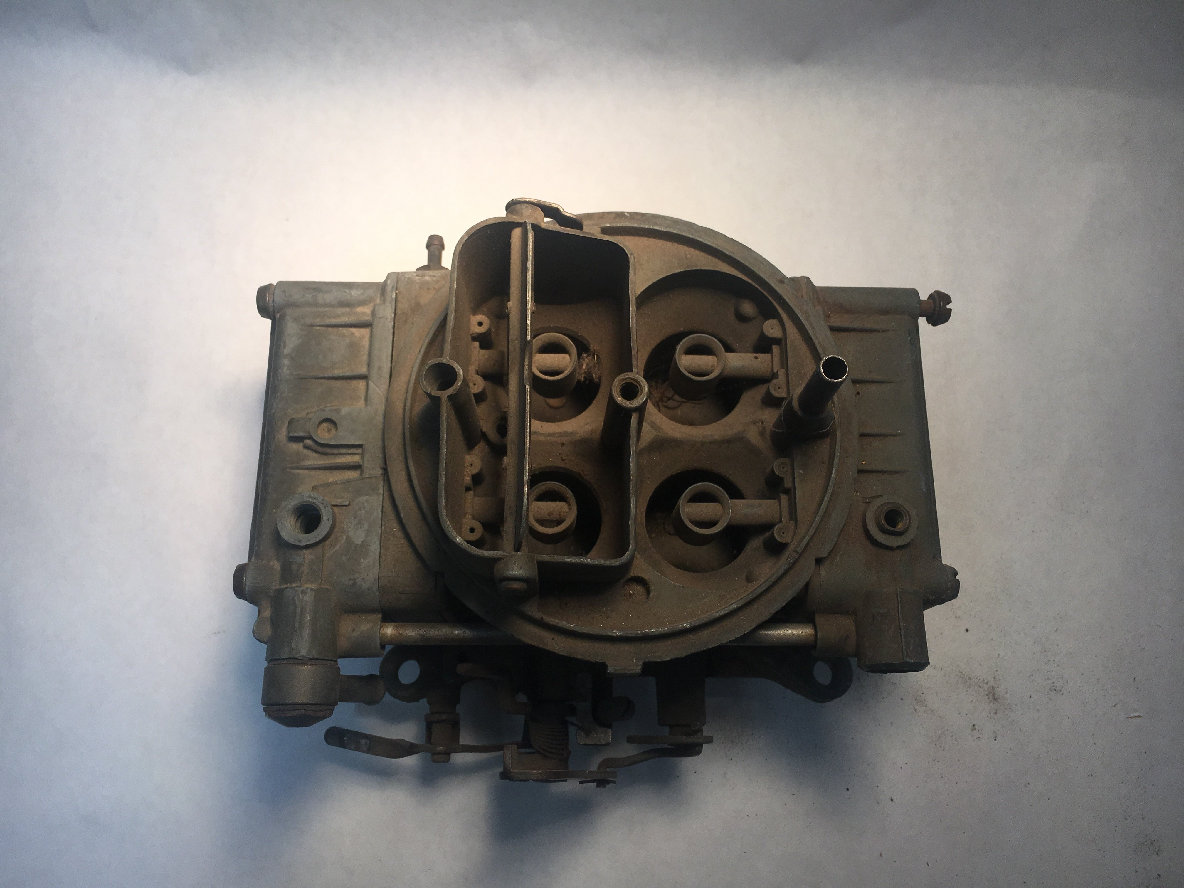 holley four barrel carburetor identification