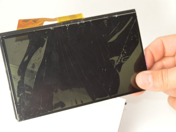 Once removed from the plastic casing your touch screen is now free and ready for replacement!