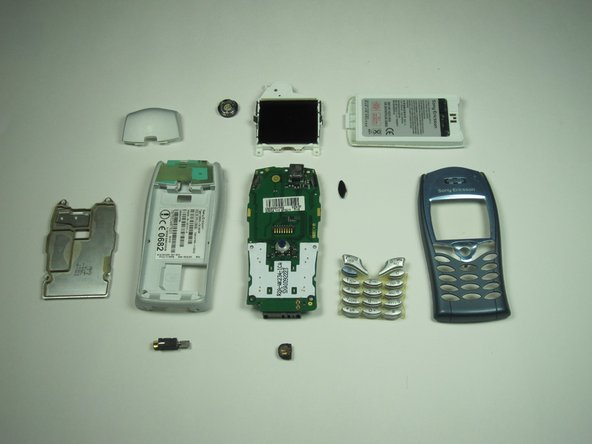 Congratulations, you have successfully disassembled your Sony Ericsson T68i!