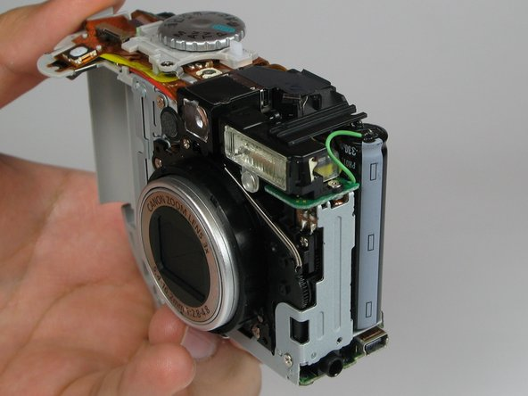 Canon PowerShot A75 Casing Replacement