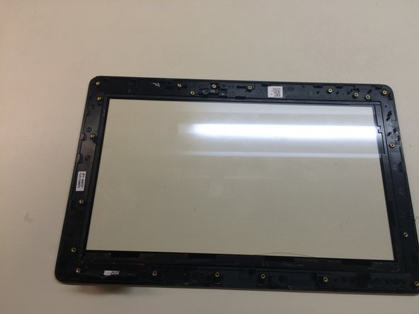 Image 3/3: Take out the screws and lift out the LCD screen