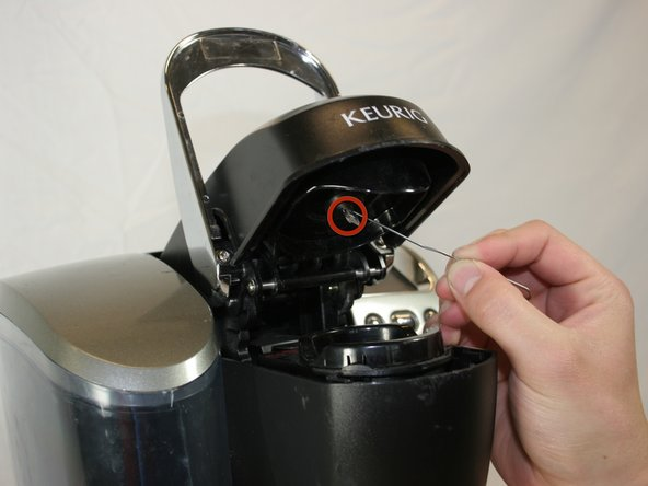Keurig Coffee Maker Maintenance Manual : How to Clean the Keurig K75 Platinum Brewing System Needle - iFixit