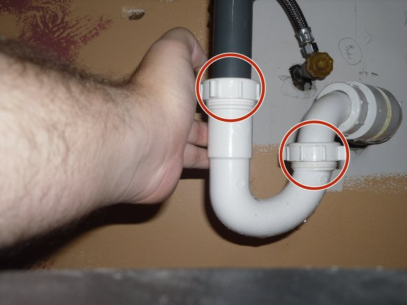If your piping looks like the photo, you won't need tools to make this fix.