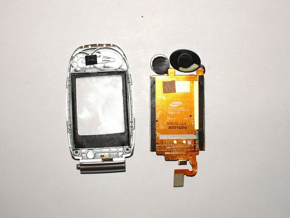 Replace the screen by adding your new LCD screen back onto the clear cover.