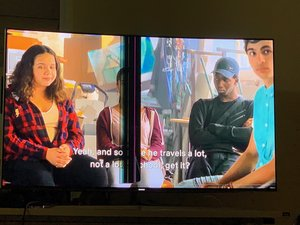 How To Remove Vertical Lines Across Screen TV 55KS9500? - Samsung