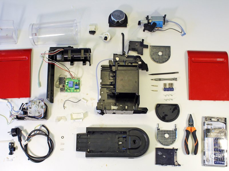 parts for nespresso machine