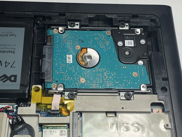 Dell Inspiron 15-7567 Hard Drive Replacement