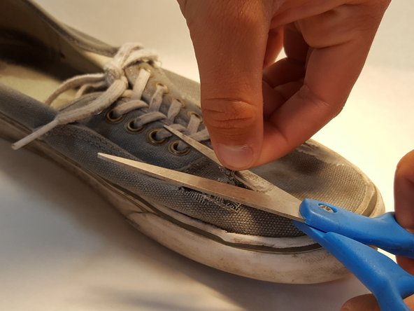 Image 2/3: This will allow the goo to stick better and last longer on the shoe.