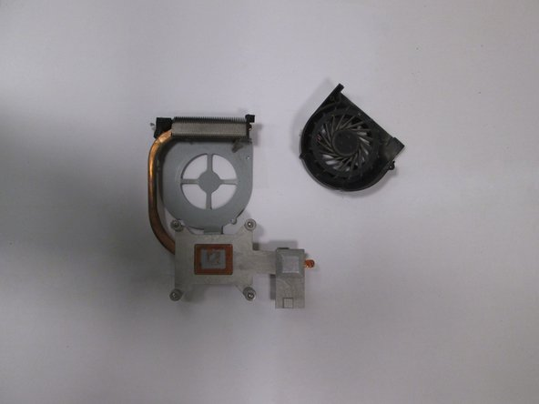 Image 3/3: You are now able to swap the faulty fan for a replacement.