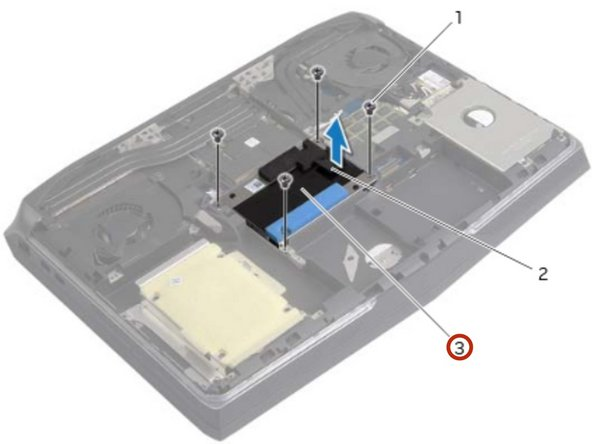 Place the hard-drive assembly in the hard-drive bay.