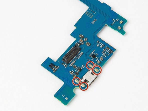 Place motherboard on safe surface for Soldering Iron use.