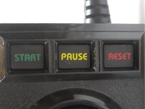 Controller Start/Pause/Reset Cleaning/Reseating