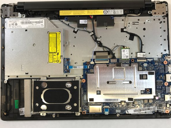Place laptop with the bottom facing up. Using a Philip #1 screwdriver unscrew all 13 (9mmx6mm) screws. Gently pry the back off using a plastic opening tool, starting from one of the corners.