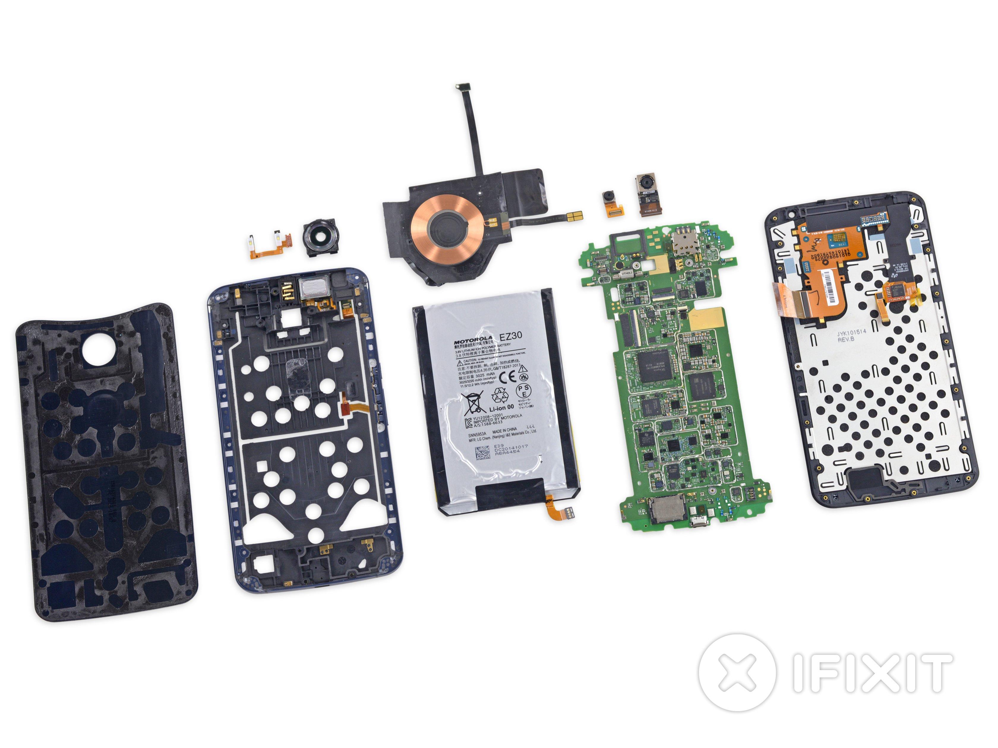 Nexus 6 Teardown