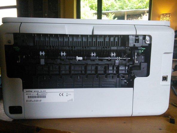 Brother Printer HL 3140 CW Paper Jam fix - iFixit Repair Guide