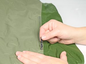Reapplying Durable Water Repellent Finish to a Waterproof Jacket