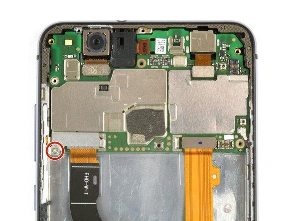 Huawei P10 Lite Displayeinheit mit Rahmen ersetzen