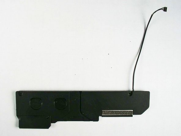 Image 2/2: The connector found on the speakers and other components is typical of the connectors seen in MacBook Unibody laptops. Translation: the iPad isn't ''that'' cramped for space.