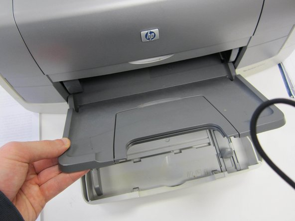 Ensure that all paper is in the correct tray.