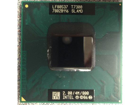 HP Compaq 6910p Processor Replacement