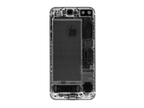 Stay tuned for more views of the new iPhone's internals courtesy of our X-ray X-perts!