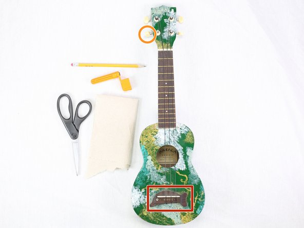 Ukulele String Replacement