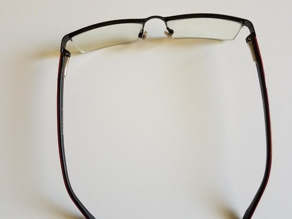 In the end, check if your glasses are tight enough to wear. If the glasses are tight, they are ready to wear.