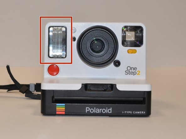 Polaroid OneStep 2 Flash Cover Replacement