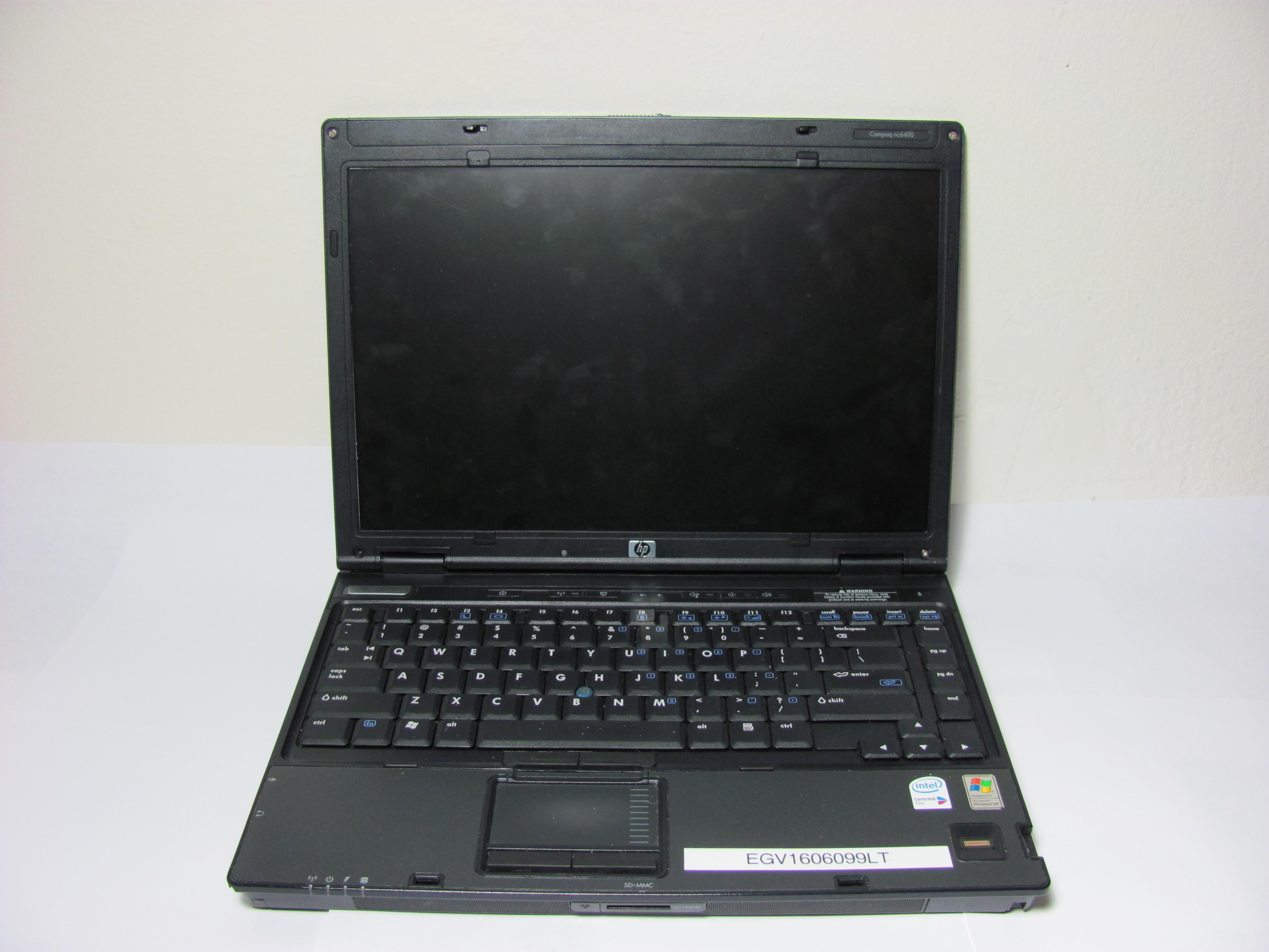 Hp compaq 6510b драйвера windows xp скачать
