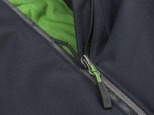 Wie repariere ich einen defekten Frontreißverschluss an meiner Vaude Jacke?