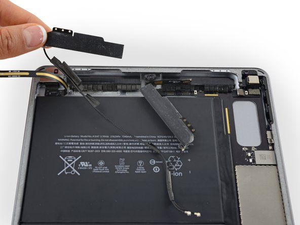 iPad Air 2 Wi-Fi Wi-Fi Antennas Replacement