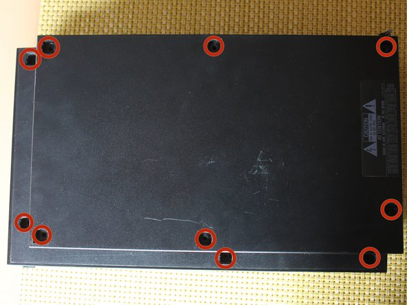 Image 1/1: The 10 screw model has 6 screws in the bottom-most portion and 4 in the upper tray.