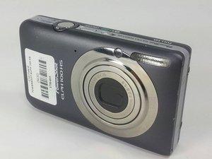 Canon Powershot ELPH 100 HS Troubleshooting