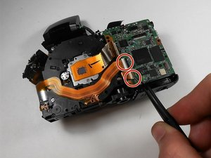Canon PowerShot SX150 IS Digital Image Sensor Replacement