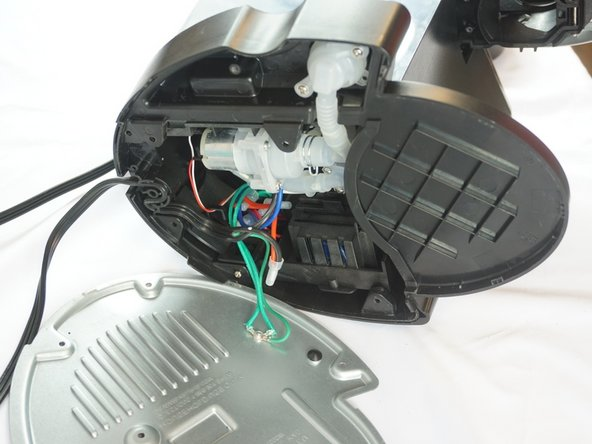 The wires do not need to be cut as this repair will not harm or use them.