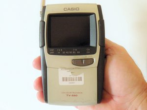 Casio TV-880B Troubleshooting