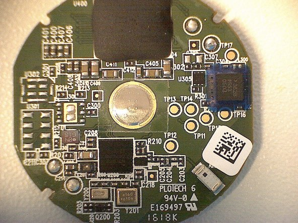The back of the PCB immediately shows a bunch of testing points which are labelled on the silkscreen layer with TPXX.