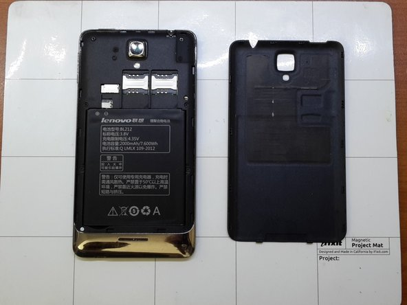 Lenovo Golden Warrior S8 Display Replacement