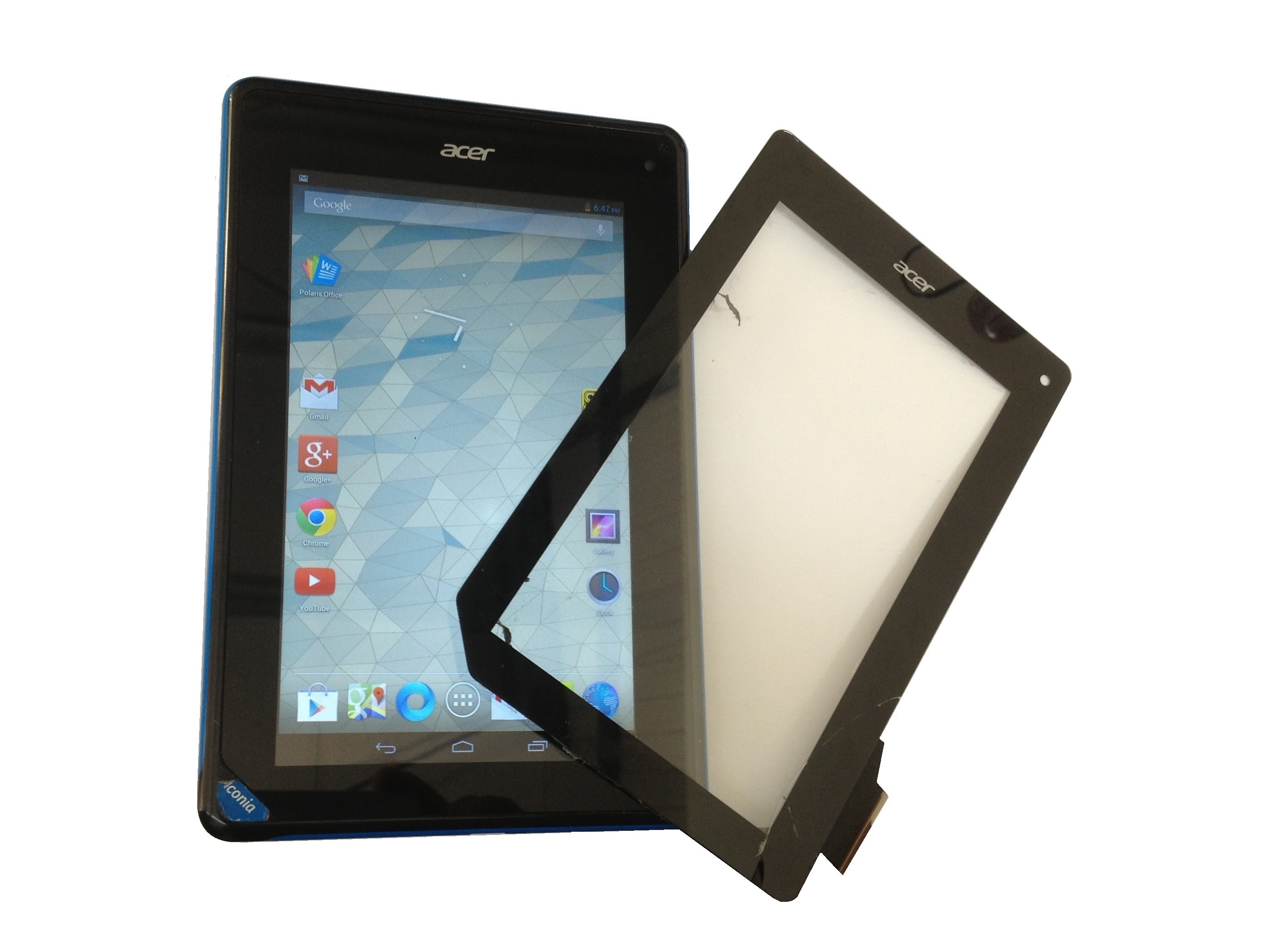 Acer Iconia B1 A71 Touch Screen Glass Replacement